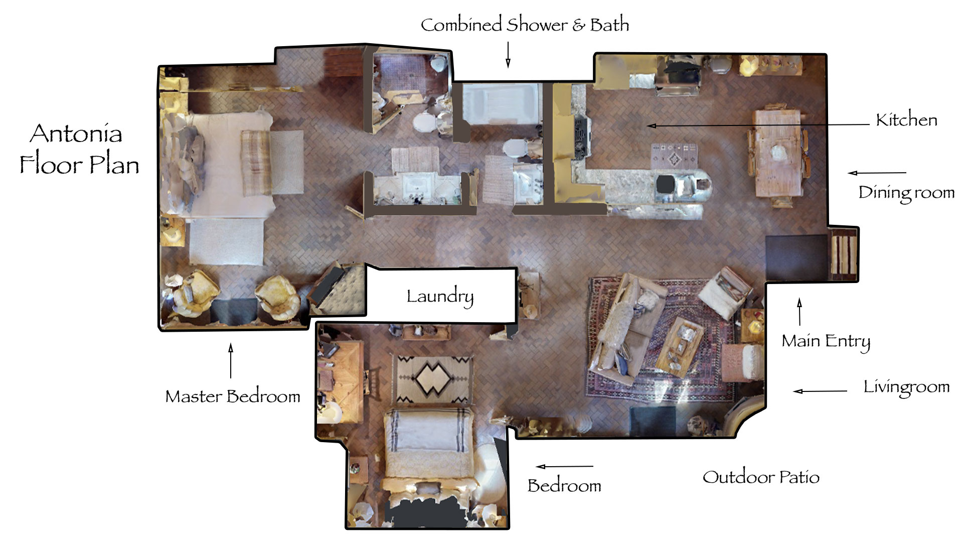 Floor Plan for Antonia