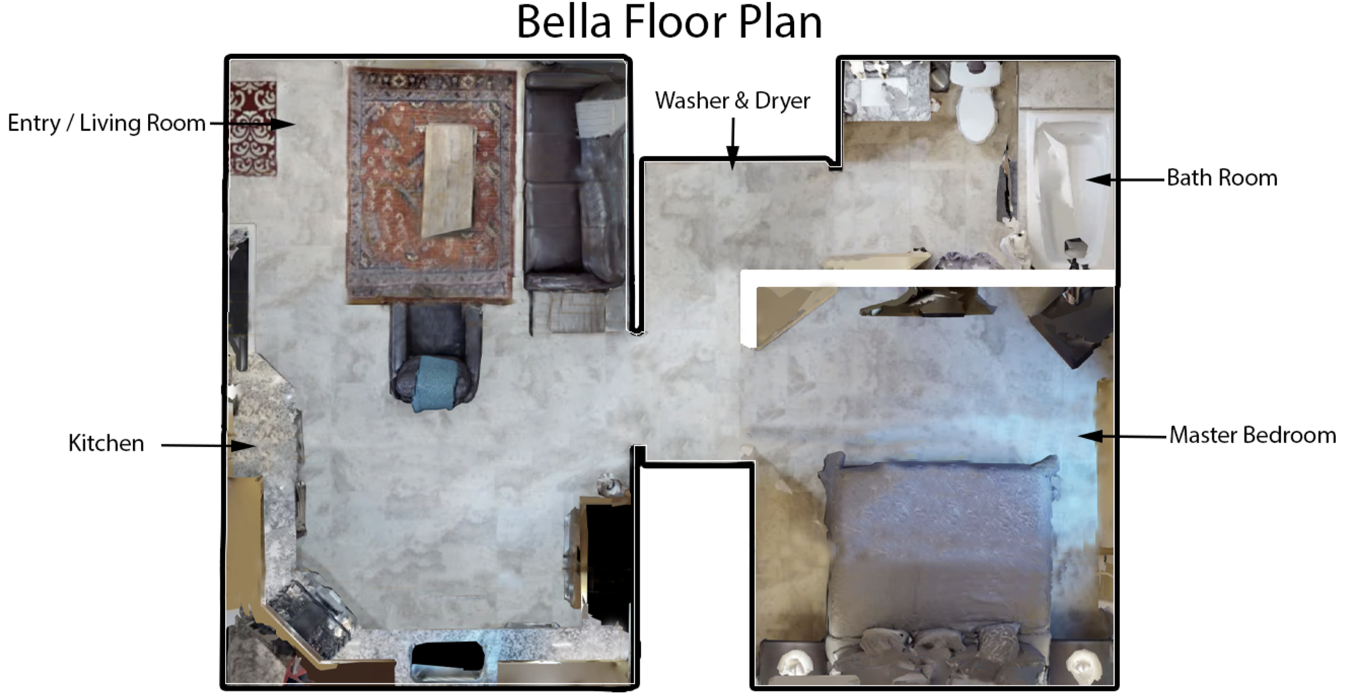 Floor Plan for Bella