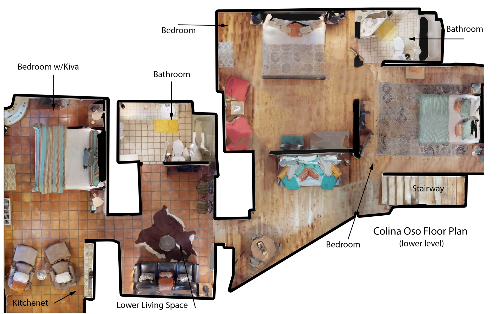 Floor Plan for Colina Oso