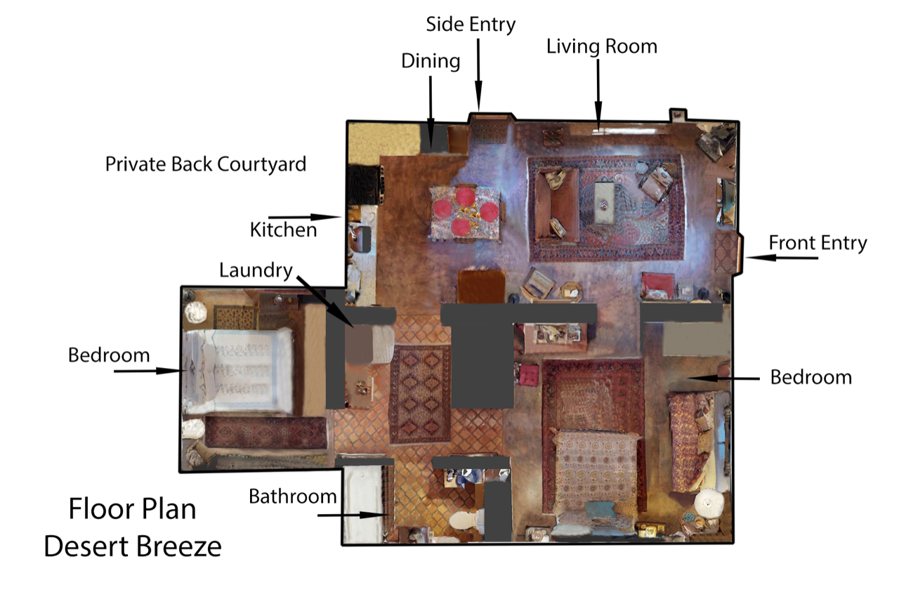 Floor Plan for Desert Breeze
