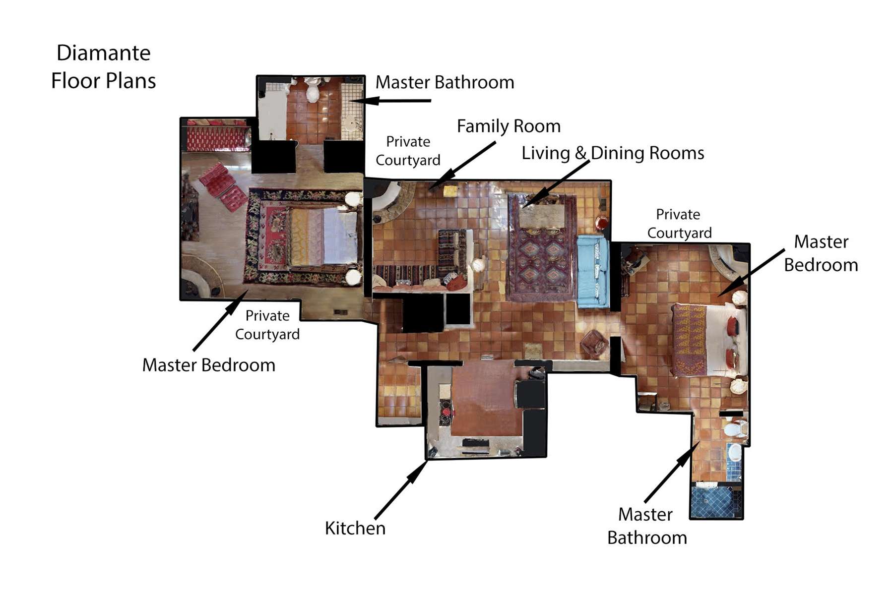 Floor Plan for Diamante