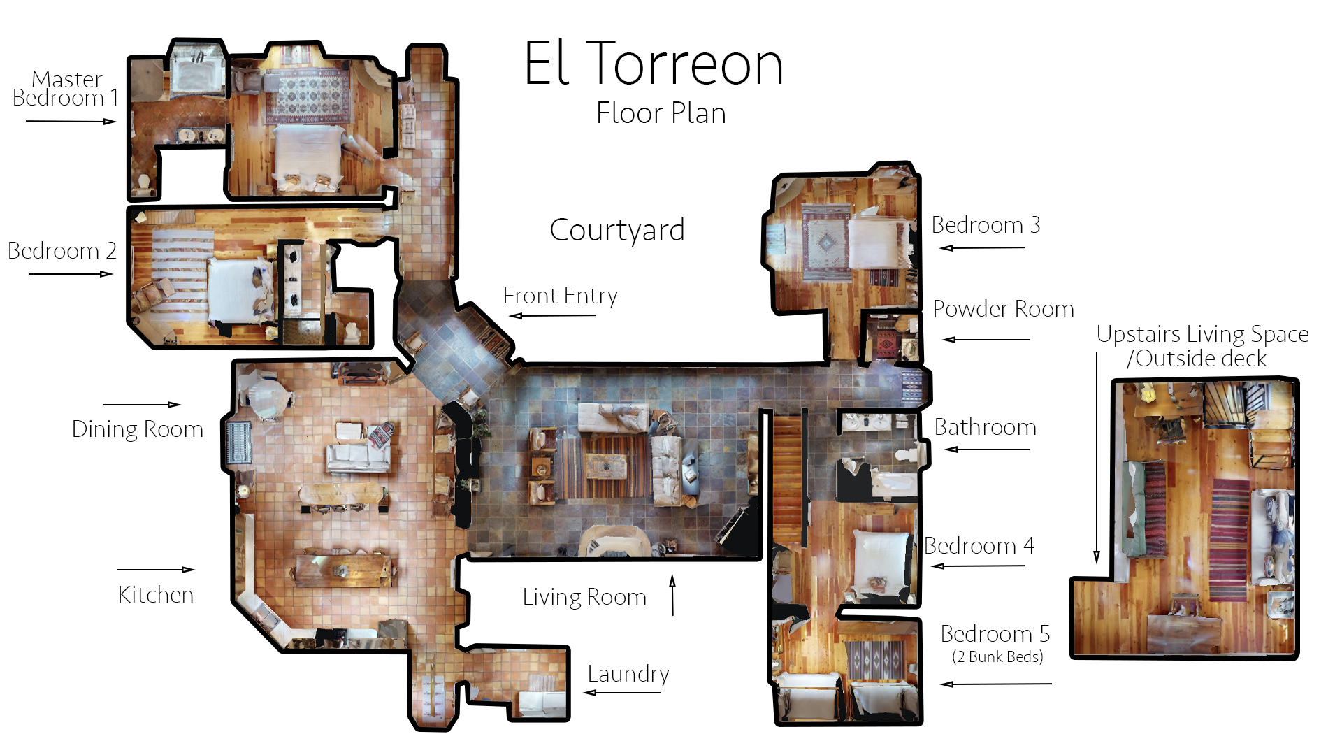 Floor Plan for El Torreon
