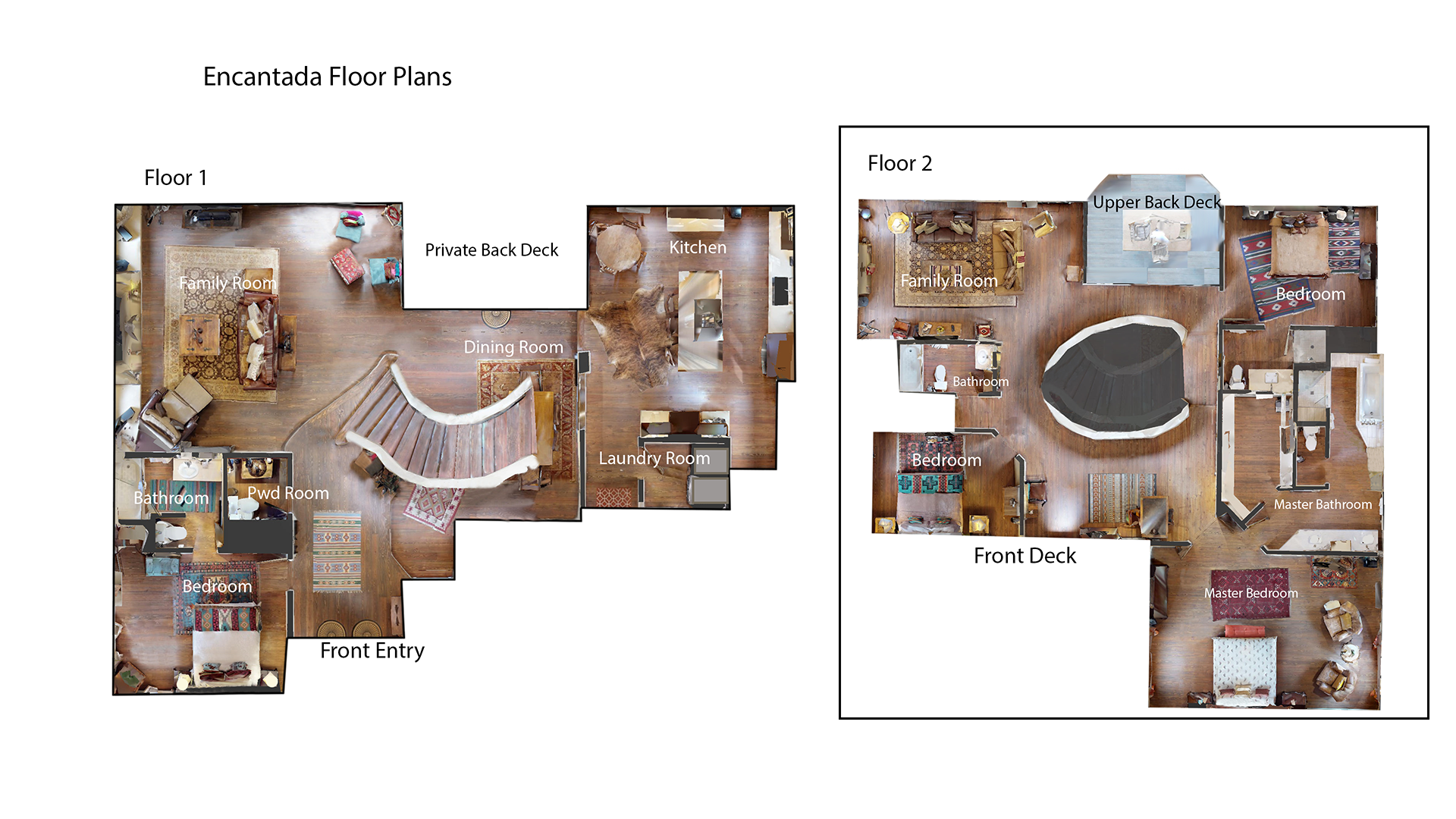 Floor Plan for Encantada