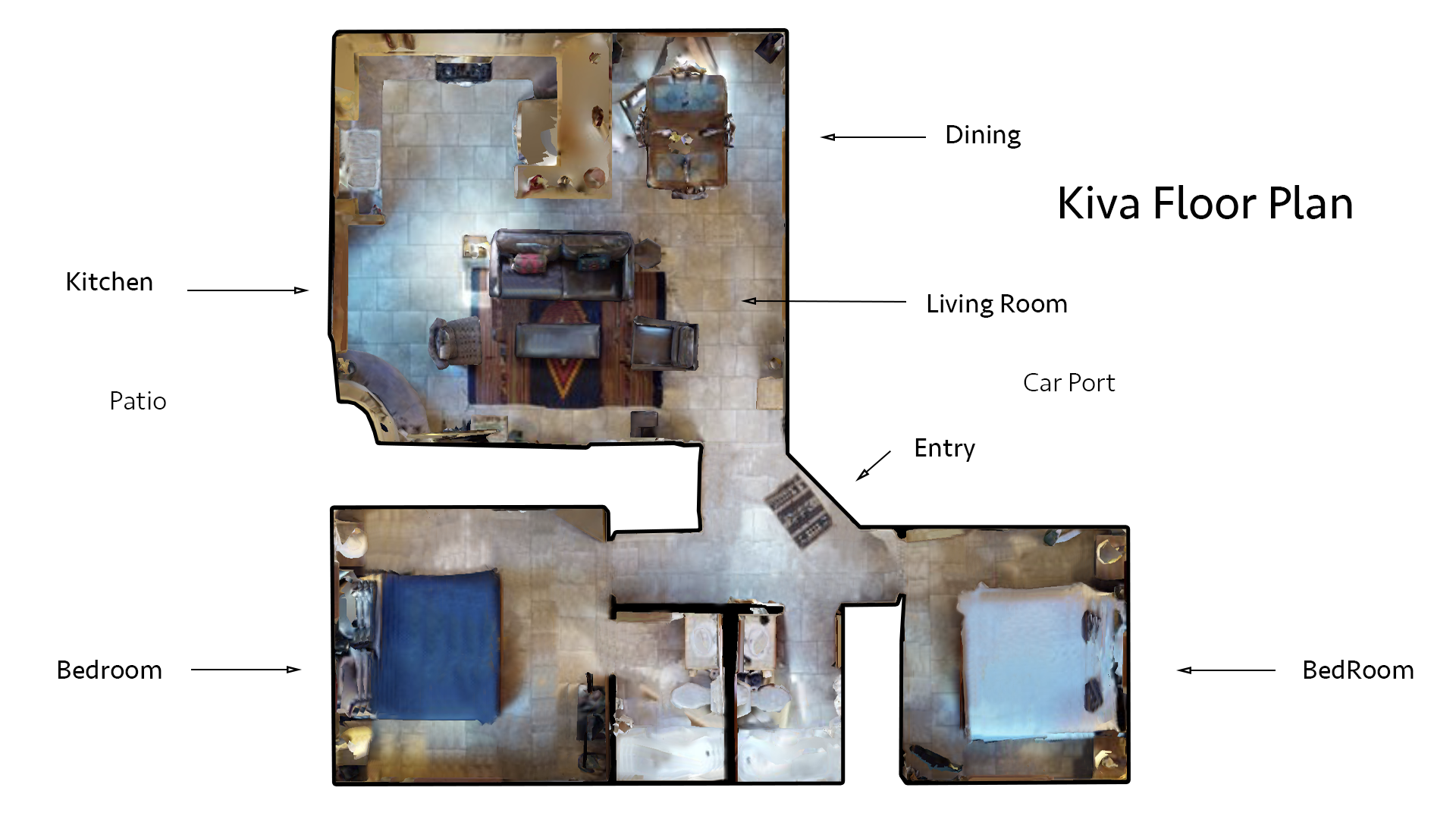 Floor Plan for Kiva