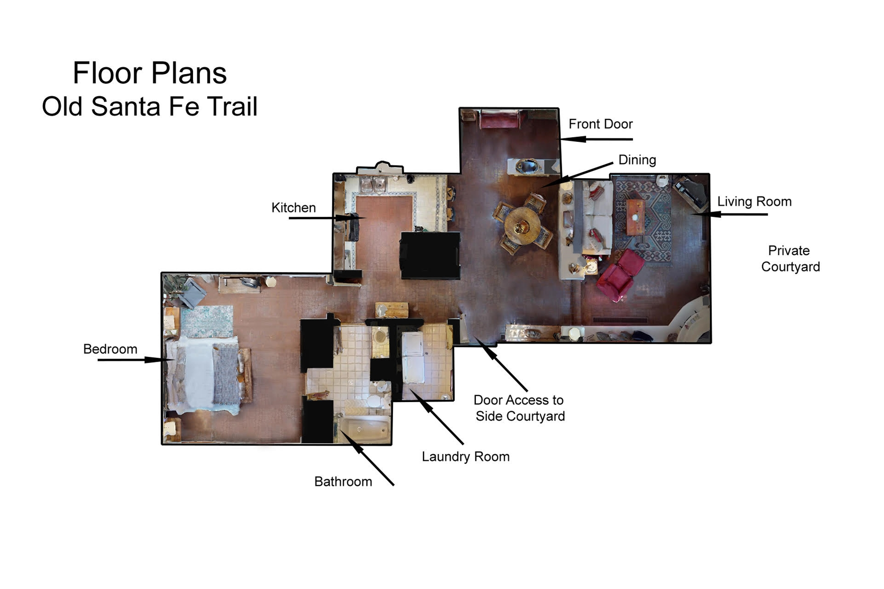 Floor Plan for Old Santa Fe Trail