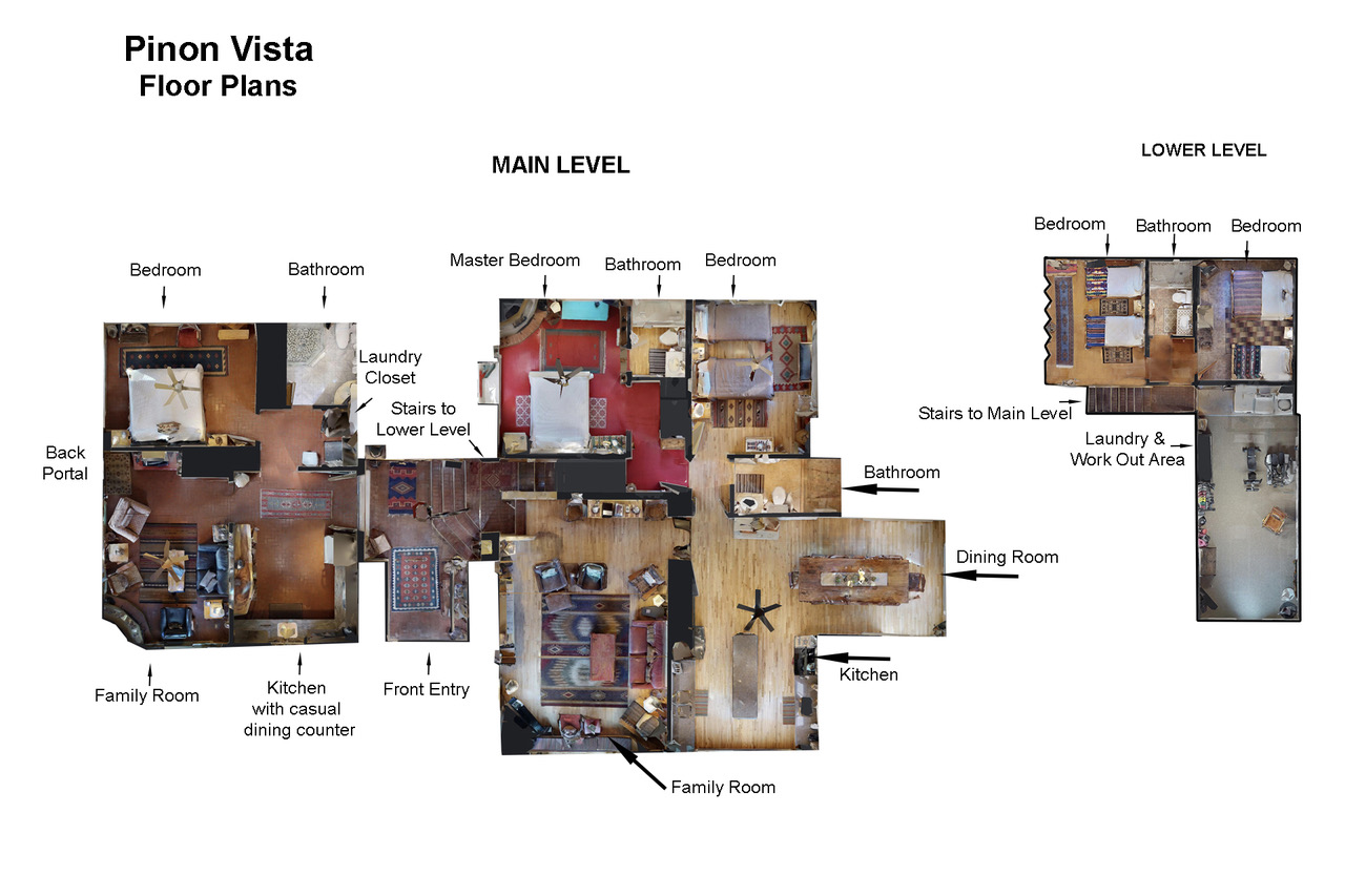 Floor Plan for  Pinon Vista