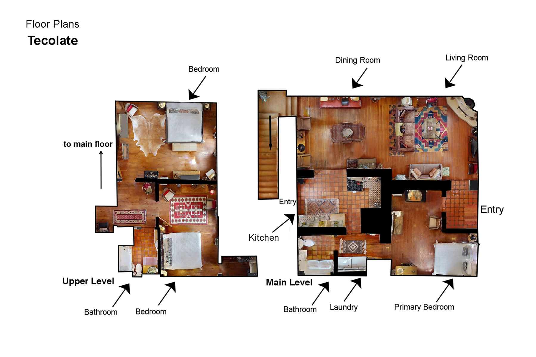 Floor Plan for Tecolote