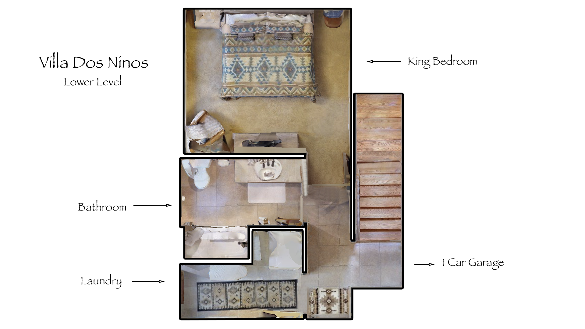 Floor Plan for Villa Dos Ninos
